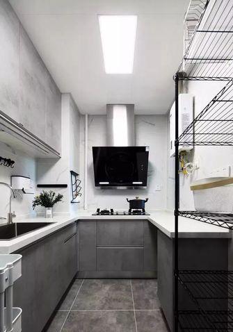 90平米三室两厅北欧风格厨房图