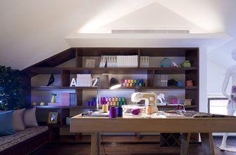 70平米三室一厅现代简约风格阁楼图