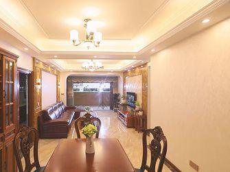 10-15万90平米三室一厅英伦风格餐厅图