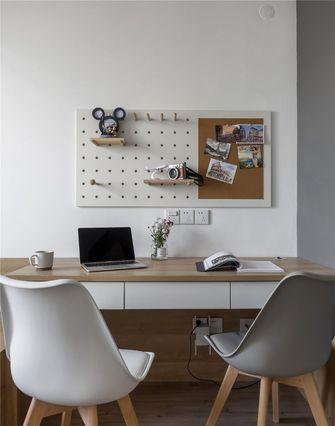 120平米四室两厅北欧风格书房图片