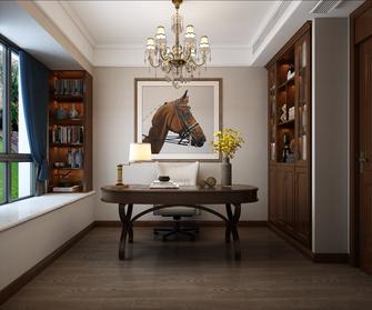140平米四室两厅其他风格书房装修图片大全