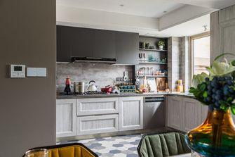 120平米四室两厅现代简约风格厨房图片