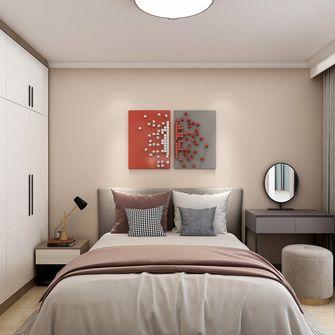 50平米一室一厅北欧风格卧室装修案例