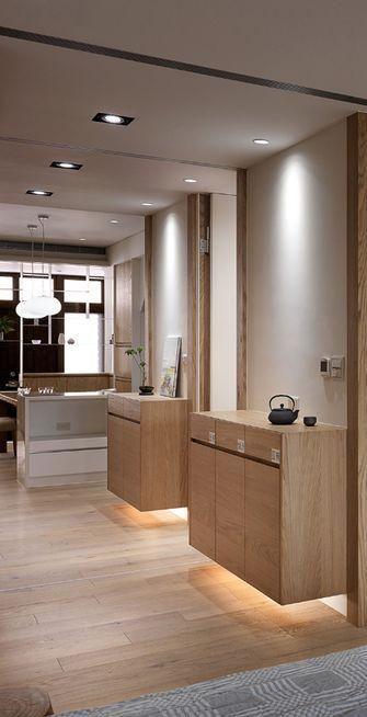 100平米三室两厅日式风格走廊欣赏图
