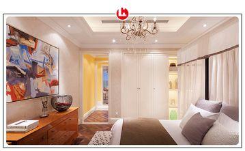 100平米三美式风格卧室欣赏图