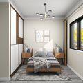 90平米三室两厅北欧风格阳光房欣赏图