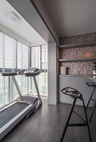 100平米三室一厅混搭风格健身室效果图