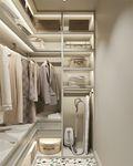 70平米一室一厅美式风格衣帽间装修案例