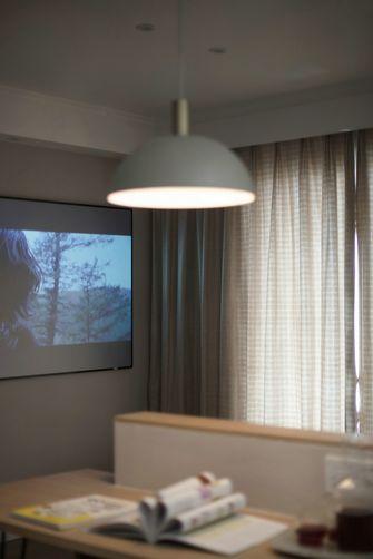70平米北欧风格影音室图