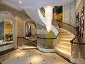 20万以上140平米别墅法式风格楼梯装修图片大全