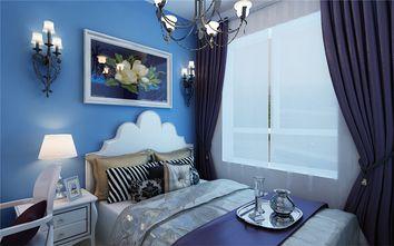 经济型50平米公寓地中海风格卧室欣赏图