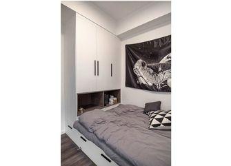 70平米一室一厅英伦风格卧室设计图