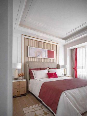 110平米三室一厅混搭风格卧室设计图