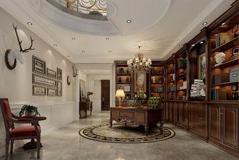 100平米三室一厅欧式风格书房装修效果图