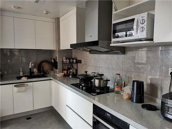 120平米三室两厅现代简约风格厨房欣赏图