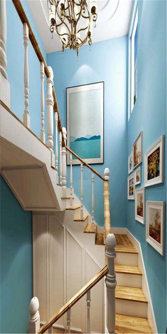 120平米公寓地中海风格楼梯间装修案例