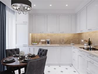 80平米美式风格厨房图