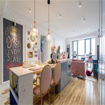 90平米三室一厅英伦风格餐厅效果图