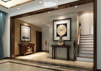 豪华型140平米别墅中式风格楼梯图片