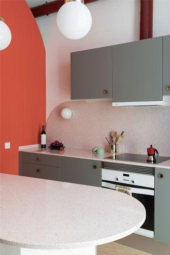 60平米英伦风格厨房图片大全
