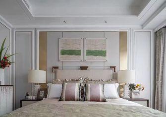 110平米三室一厅法式风格卧室欣赏图