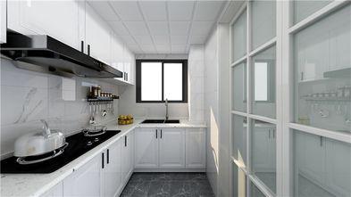 140平米三室三厅现代简约风格厨房图片大全