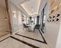 110平米三室两厅欧式风格餐厅设计图