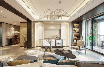 130平米三室三厅中式风格客厅图