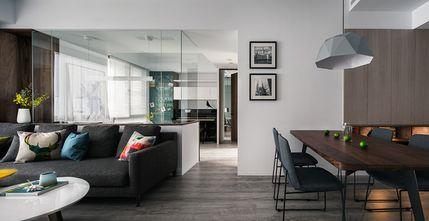 豪华型90平米现代简约风格客厅装修图片大全
