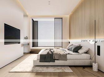 140平米复式英伦风格卧室装修图片大全