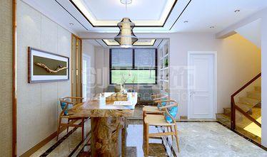 经济型140平米复式现代简约风格餐厅装修效果图