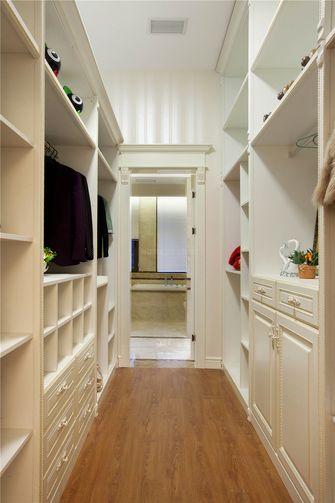 20万以上140平米别墅法式风格衣帽间鞋柜图