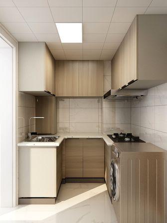 90平米田园风格厨房效果图