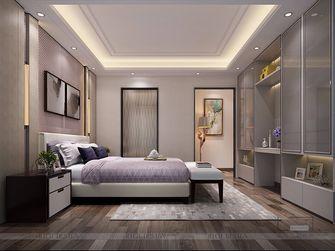 140平米三室一厅中式风格卧室图片