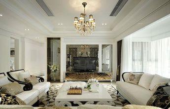 110平米三室两厅新古典风格客厅图