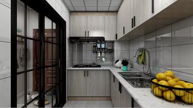 10-15万80平米北欧风格厨房装修图片大全