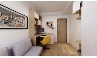 90平米日式风格书房设计图