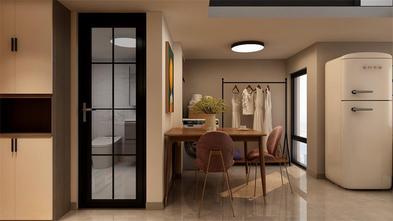 50平米一居室现代简约风格餐厅效果图