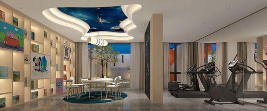 豪华型140平米别墅现代简约风格健身室图