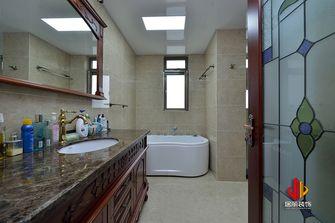 140平米四室三厅新古典风格卫生间欣赏图
