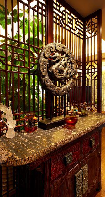 豪华型140平米别墅东南亚风格玄关装修案例