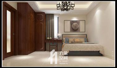 110平米三室三厅中式风格卧室图片大全