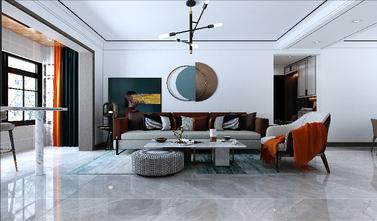 120平米三室一厅其他风格客厅设计图