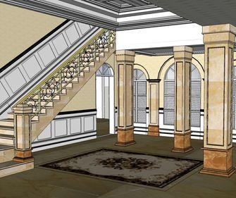 20万以上140平米别墅欧式风格楼梯欣赏图