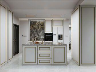 140平米三室三厅美式风格厨房图