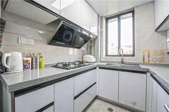 80平米三室一厅现代简约风格厨房图片大全