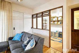 80平米日式風格客廳圖片大全