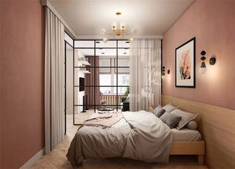 70平米公寓现代简约风格卧室欣赏图