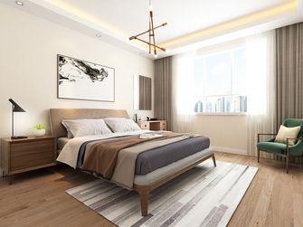 130平米三室一厅现代简约风格卧室图