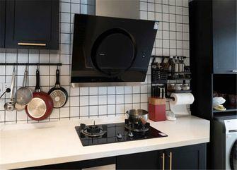 70平米公寓英伦风格厨房欣赏图